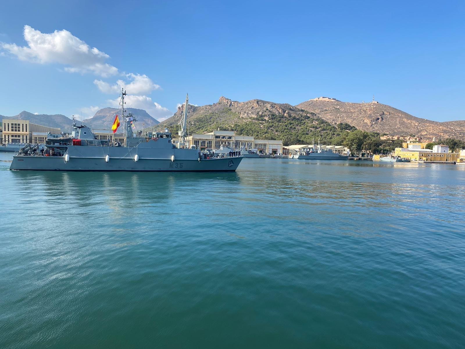 El jefe de la Armada Española recuerda a Vox que no se puede hacer un bloqueo naval en Canarias. Europa Press