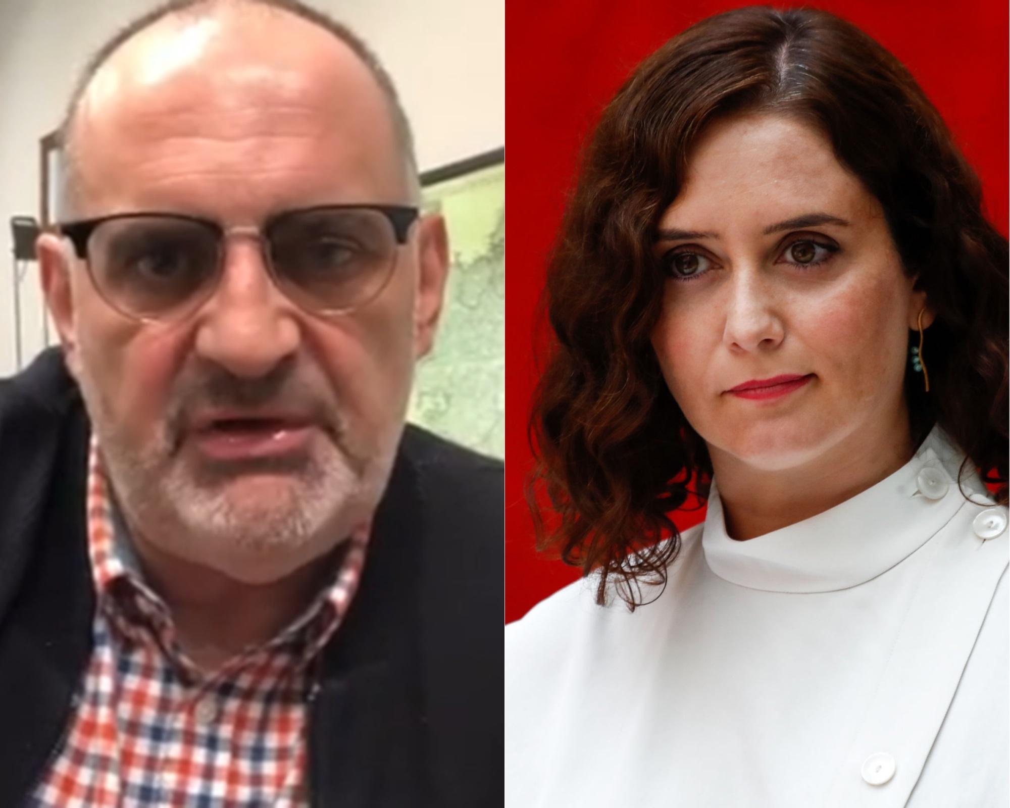 Antón Losada e Isabel Díaz Ayuso