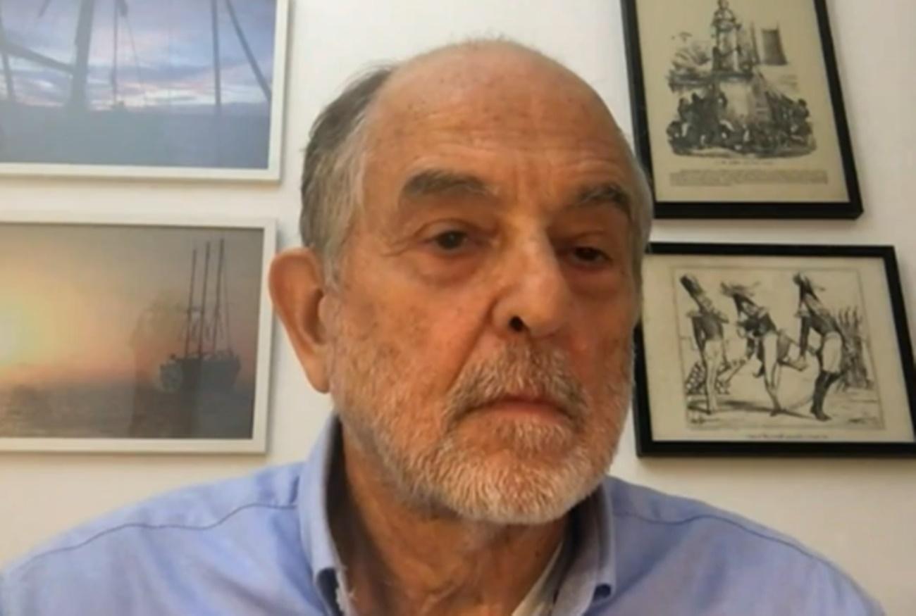 """José Ignacio Domínguez, exintegrante del polémico chat de militares  retirados: """"Se empezó a radicalizar a raíz de la entrada de Vox en el  Congreso"""""""
