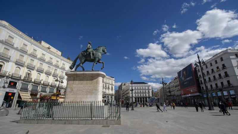 Imagen de la Puerta del Sol (Madrid). Europa Press