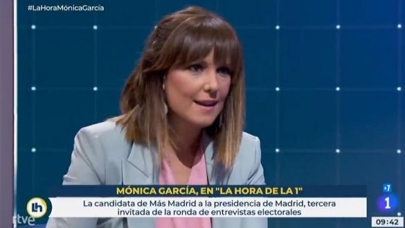 La Junta Electoral estima que la activista de TVE Mónica