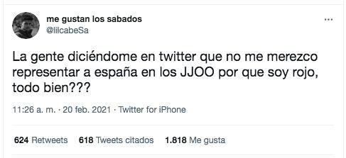 Alberto Ginés Twitter