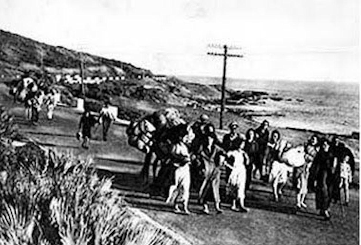 La masacre de la carretera de Almería constituyó el episodio más cruento de la Guerra Civil en Málaga