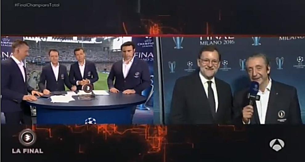 Rajoy Suelta Otra De Sus Célebres Frases Incomprensibles Antes De La Final De Milán