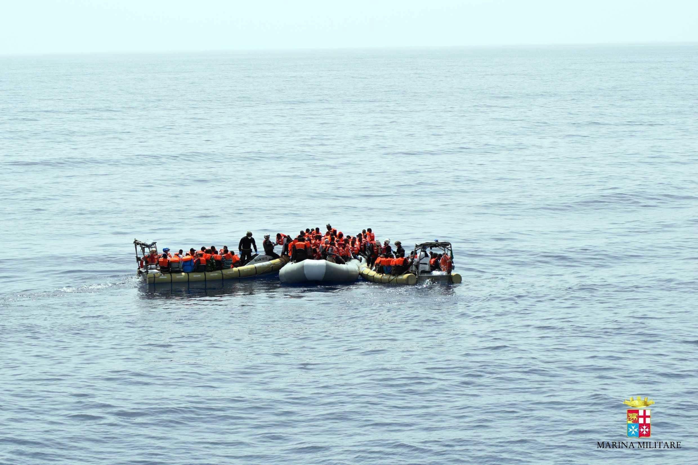 Hallados muertos siete inmigrantes que intentaban cruzar el Estrecho