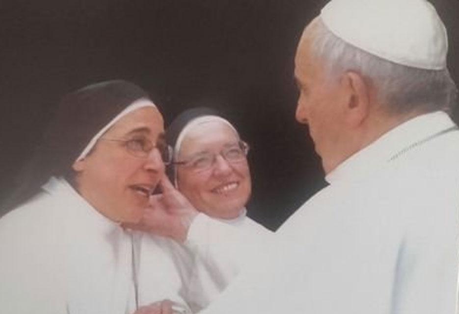 El Papa y Sor Lucía