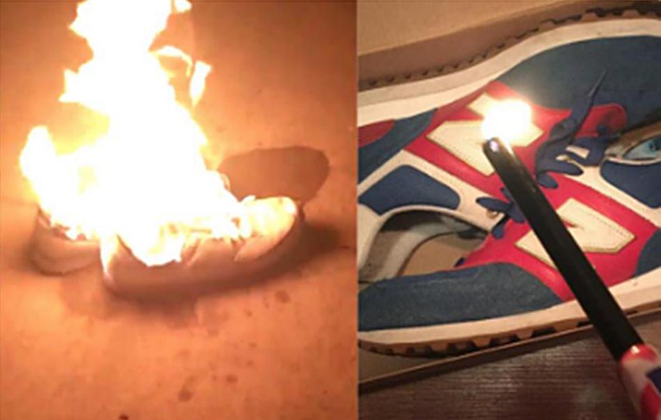 new balance quemadas