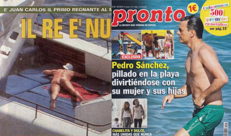 Los Paparazzi No Sólo Fotografían A Podemos Del Desnudo Del Rey A