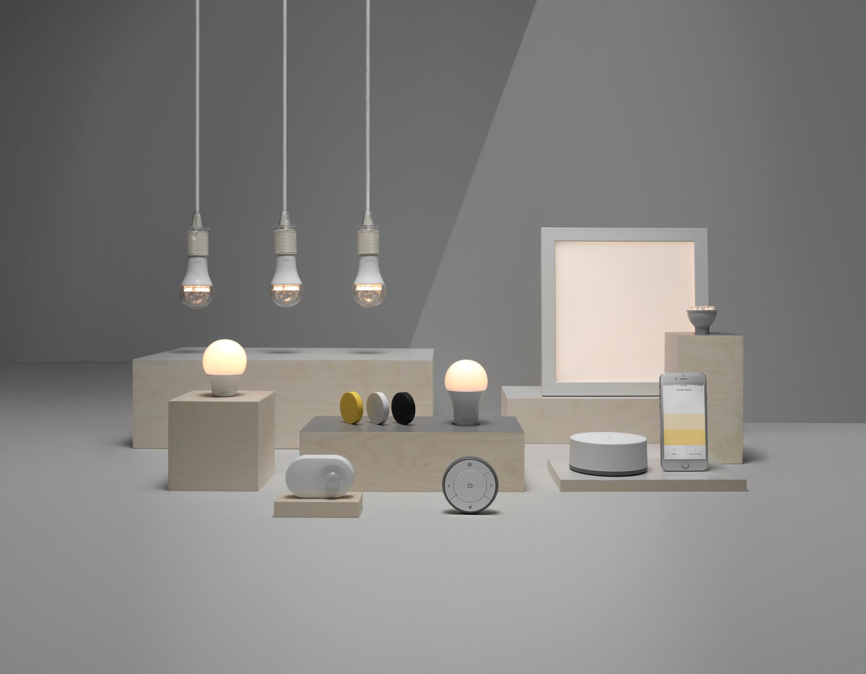 Ikea y la nueva iluminaci n para casas inteligentes - Comprar en ikea desde casa ...