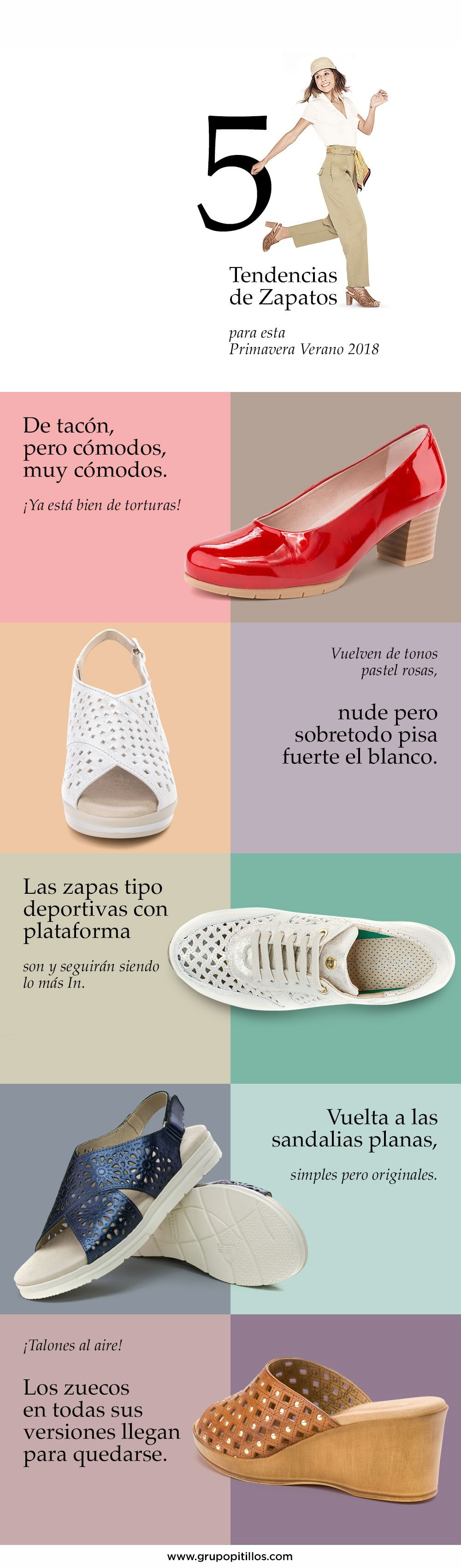 Tienda elegante y elegante en stock Zapatos Pitillos' presenta el calzado que triunfará esta ...