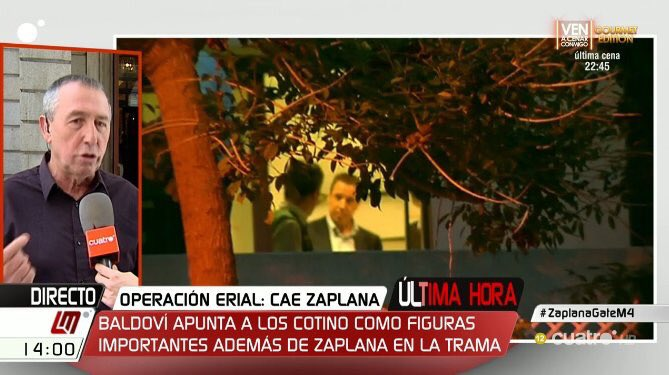 El portavoz de Compromís pide a Mediaset en directo que no cierre ...