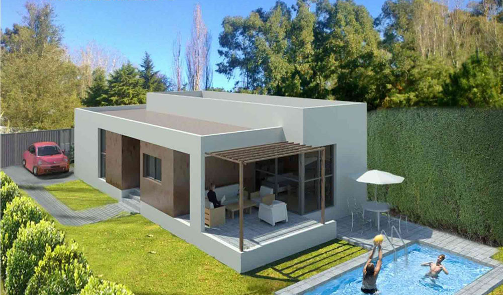 Vivienda hormigon elegant vivienda hormigon with vivienda hormigon amazing vivienda de hormign - Vivienda modular hormigon ...