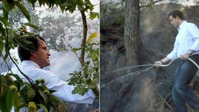 Feijóo se desmiente a sí mismo: en 2006 acusó a la Xunta de ser responsable  de muertes en incendios forestales