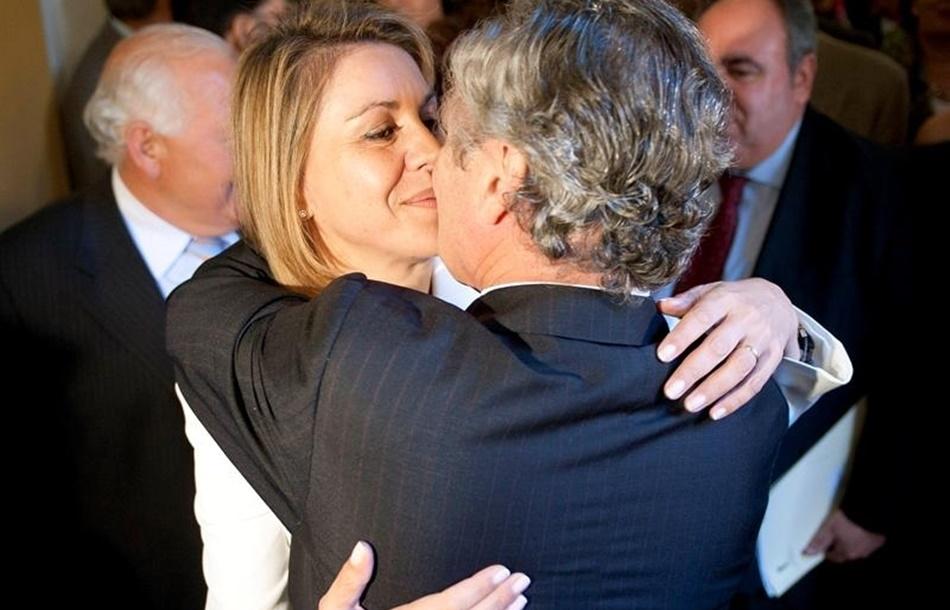 Pleno del Partido Popular en la boda del hijo de Federico