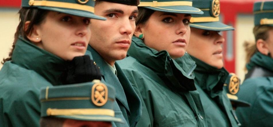Guardias civiles en una imagen de archivo