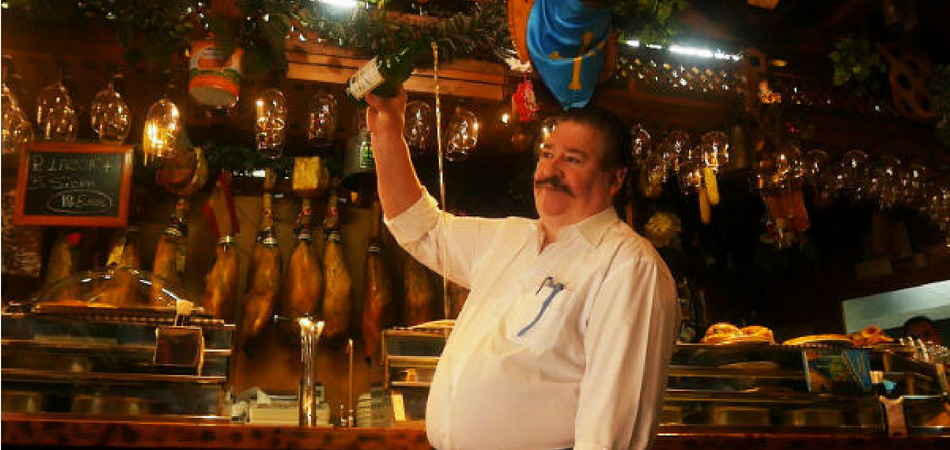 Nicolás Parrondo, dueño del restaurante de la cuenta de casi 50.000 euros