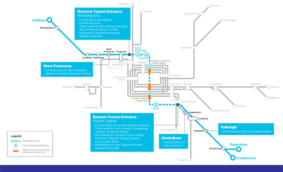 Ampliación metro Melbourne - ACS