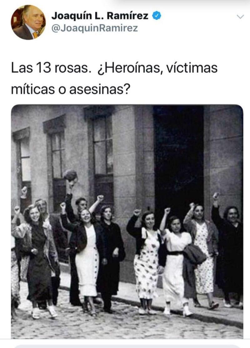 Tuit Joaquín Ramírez