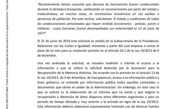 Resolucion solicitud condecorados franquismo 001