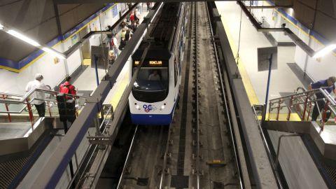Metro de Madrid vuelve a detectar amianto en la línea 6