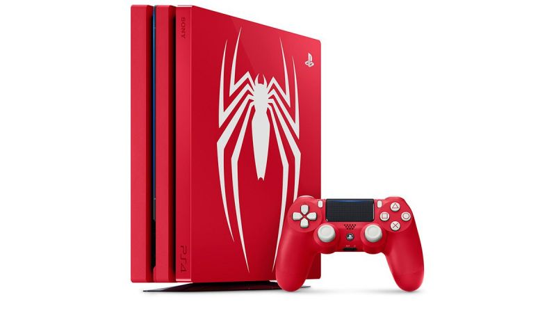 PS4 Pro Marvels SpiderMan 1