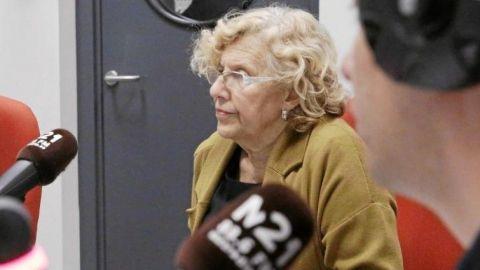 Prácticas a cero euros en la radio de Manuela Carmena