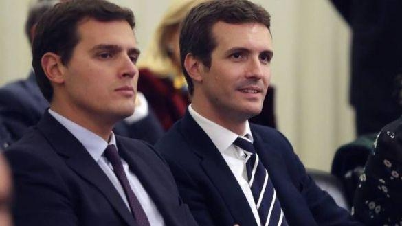 """Casado y Rivera coinciden tras la reunión: """"Sánchez debe mover ficha"""""""