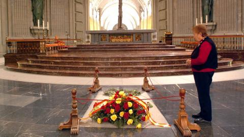 Franco será exhumado el 10 de junio y trasladarán sus restos a El Pardo