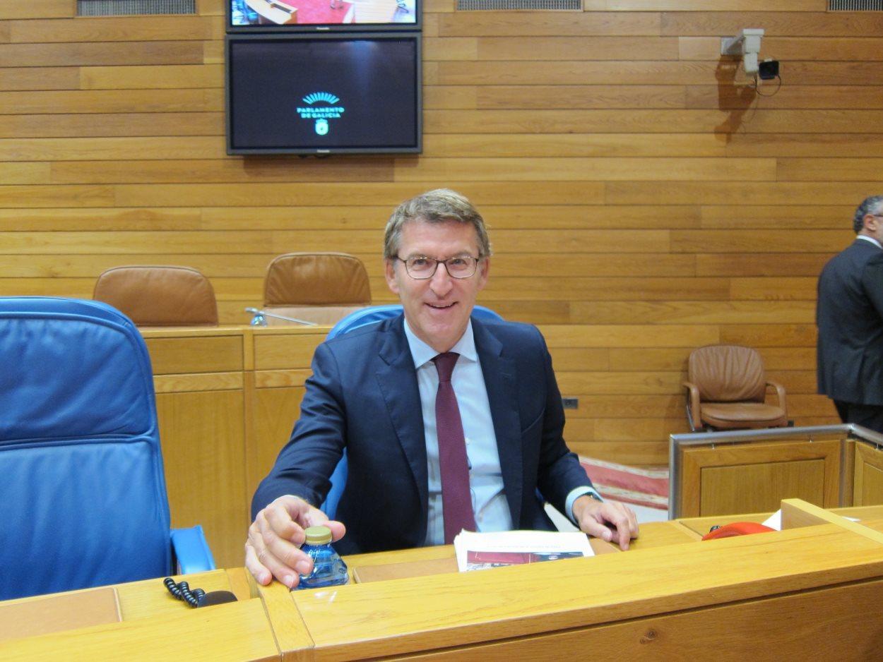 El presidente de la Xunta, Alberto Núñez Feijóo. EP