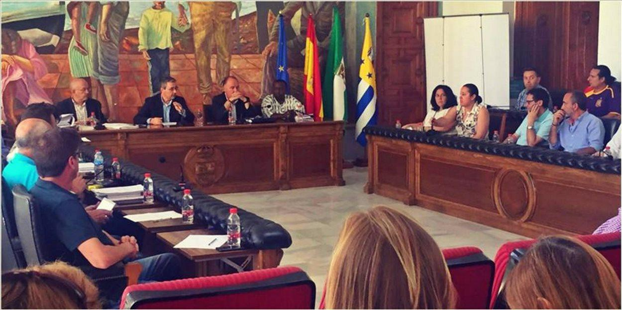 Pleno Municipal del Rincon de la Victoria.