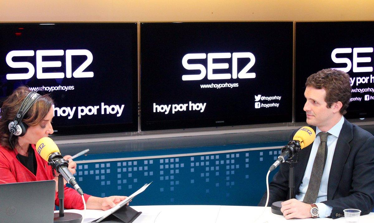 Resultado de imagen de Tensión entre Pepa Bueno y Pablo Casado