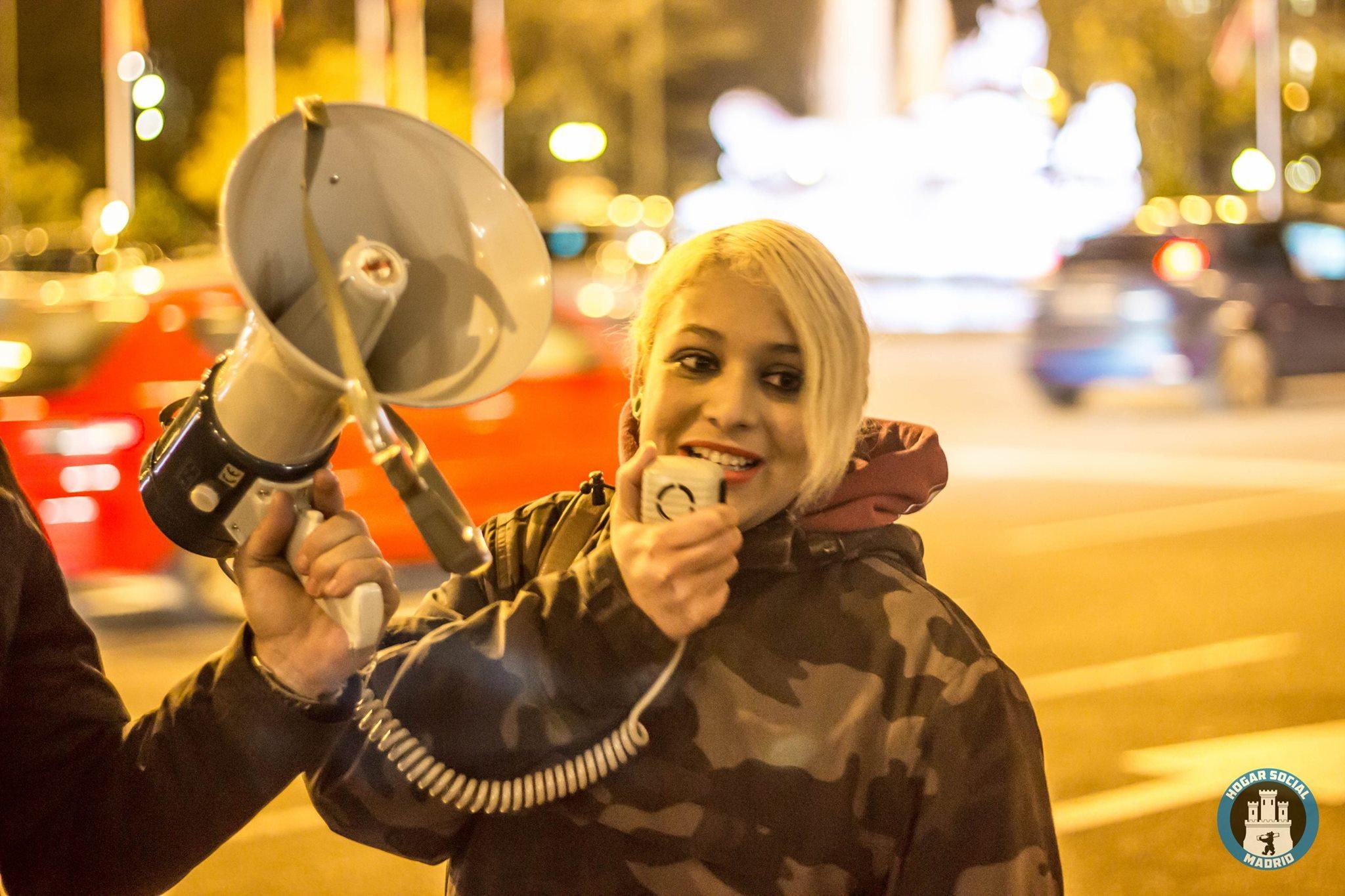 Melisa Lider De Hogar Social Madrid Entre Vox Y Podemos No Se