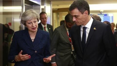 Theresa May cancela la votación del Brexit