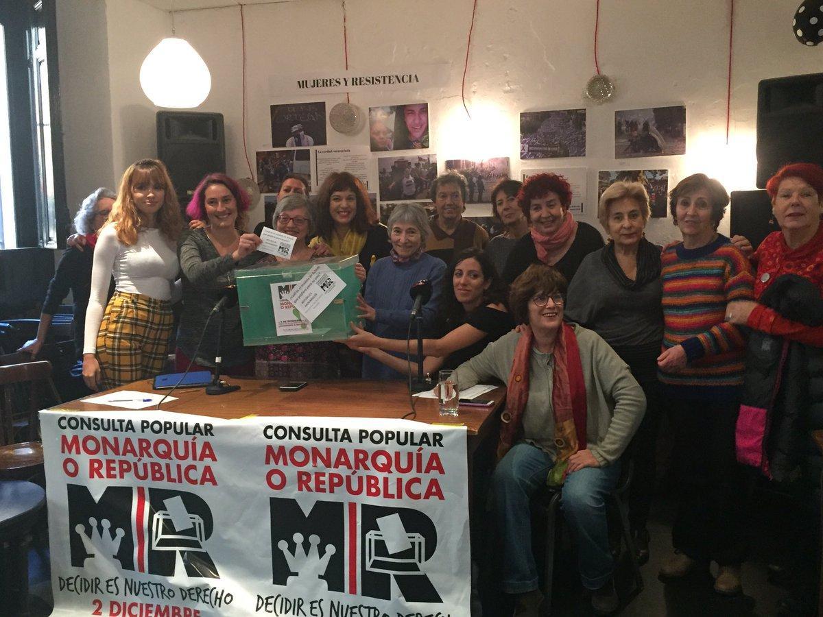 Imagen de la plataforma 'Consulta Popular Monarquía o República'