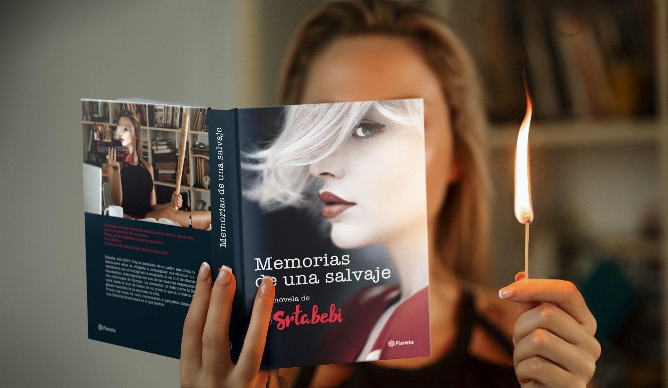 'Memorias de una salvaje', editada por Planeta, es la primera novela de la activista @srtabebi