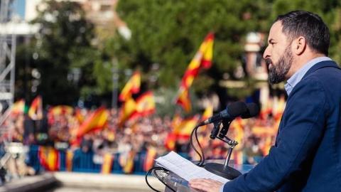Abascal reaparece cargando contra sus socios, Ciudadanos y PP