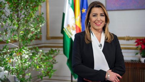 Rueda de prensa de Susana Díaz
