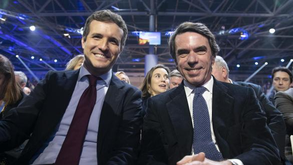 Pablo Casado, a sueldo cuando Aznar hizo de 'mediador' para un dictador