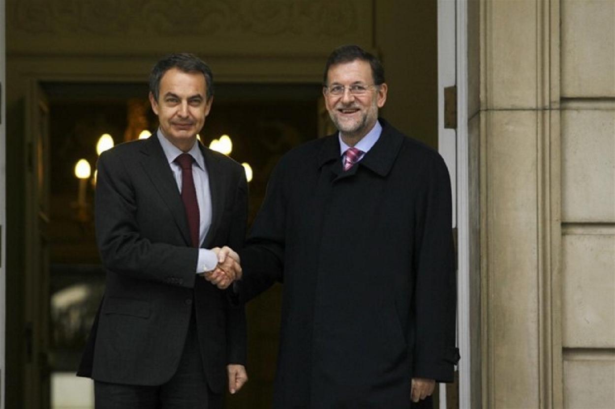 ¿Cuánto mide Mariano Rajoy? - Altura - Real height El-presidente-del-gobierno-jose-luis-rodriguez-zapatero-y-el-lider-del-pp-mariano-rajoy-ep