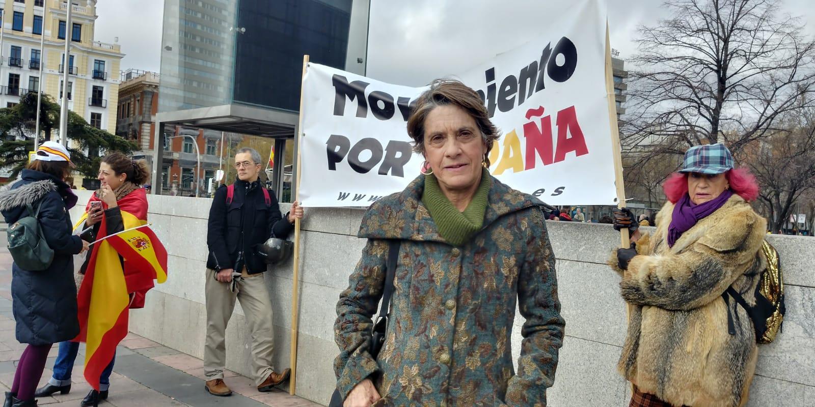 La franquista Pilar Gutiérrez
