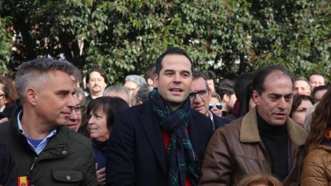 El candidato de Ciudadanos en Madrid, sobre Vox: Tenemos que quitarnos los complejos