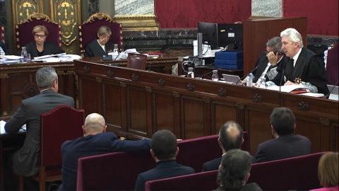El juicio del 'procés' se reanuda con los empleados de paquetería e imprenta