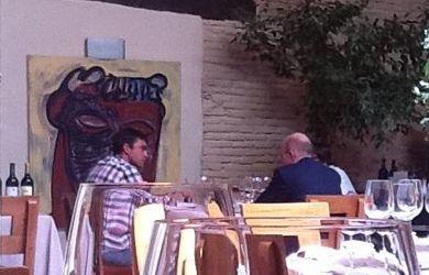 ec2c5a32a31 Sanchís y Nacho Villa en la comida de agosto de 2011. ELPURAL.COM.