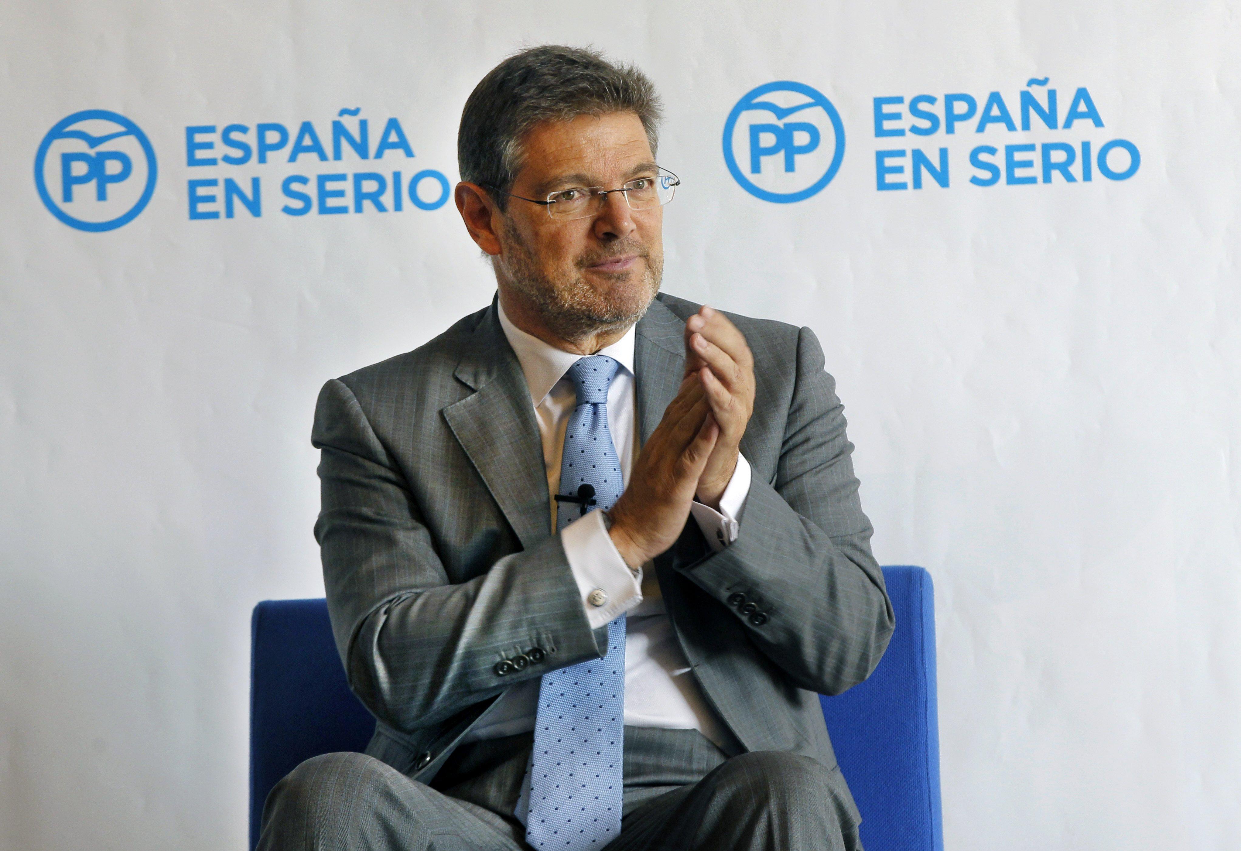 Catalá trabaja en el sector privado sin autorización del
