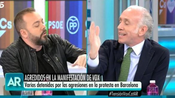 Inda insulta a la madre del periodista Antonio Maestre en directo, en el programa de Ana Rosa