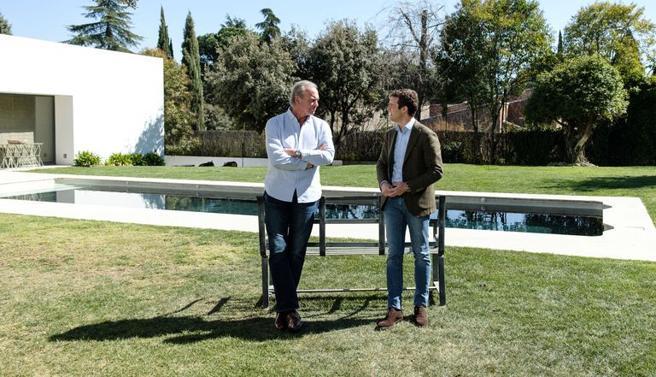 Bertín Obsborne y Pablo Casado. Telecinco