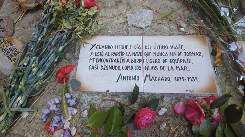 Placa Antonio Machado