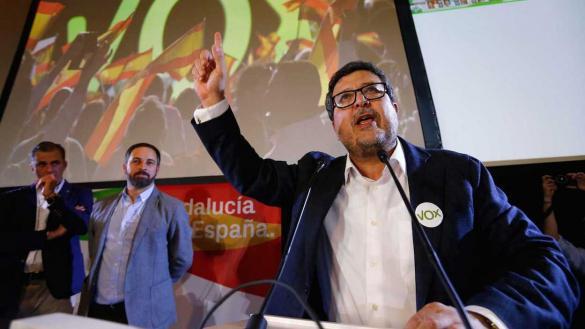 El juez Serrano, líder de Vox en Andalucía, detrás del 'desahucio' de Malú y Rivera