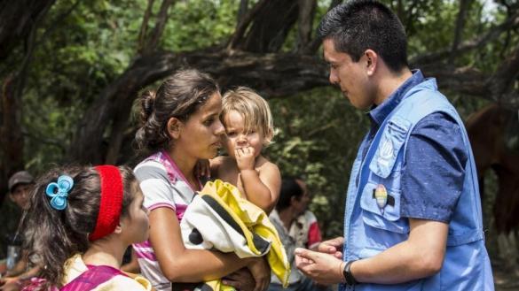 ACNUR pide que dé el estatus de refugiados a los que huyen de Venezuela