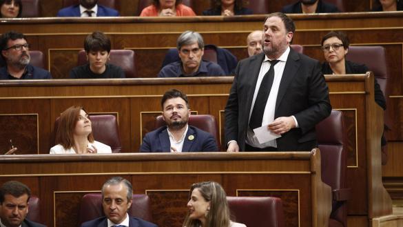 Junqueras pide a Batet que reconsidere la suspensión de los presos